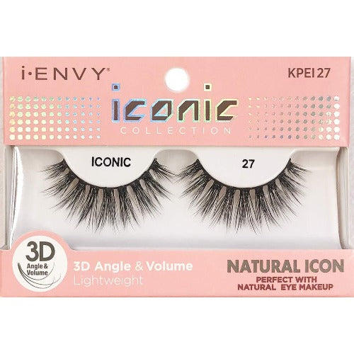 I Envy - KPEI27 - 3D Iconic Collection Natural 3D Lashes By Kiss - Waba Hair and Beauty Supply