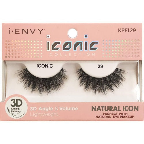 I Envy - KPEI29 - 3D Iconic Collection Natural 3D Lashes By Kiss - Waba Hair and Beauty Supply