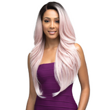 "Penelope - MLF320 - 13""x4"" Hand Tied Swiss Lace Front Wig by Bobbi Boss"