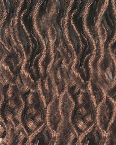 "Amour 12"" Natty 3X Faux Dredlocks Loose Wave Tips NFLL123X Crochet Braid Hair By Chade Fashions - Waba Hair and Beauty Supply"