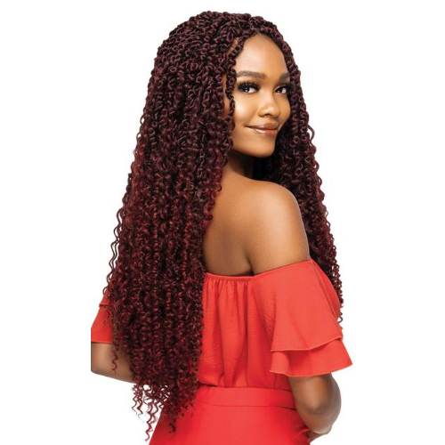"24"" X-Pression Twisted Up Boho Passion Water Wave Crochet Braiding Hair by Outre"