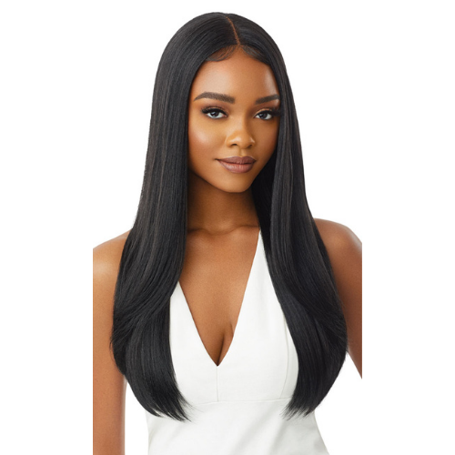 Chanelle Sleek Lay Part Lace Front Wig by Outre
