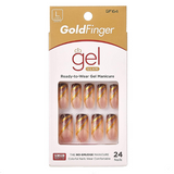 Losh Queen Gel Glam Full Cover Press On Nails - GF64 - by Kiss