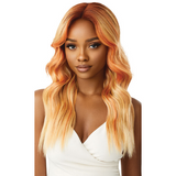 Delphine Color Bomb Swiss Lace Front Wig By Outre