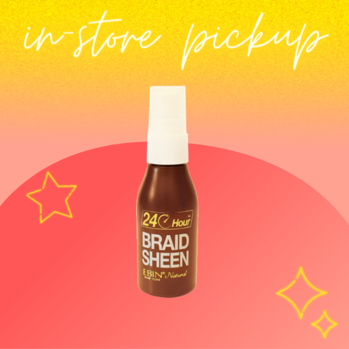 {In-Store Pickup Only} 24 Hour Braid Sheen Hair Spray by Ebin New York Natural 2oz
