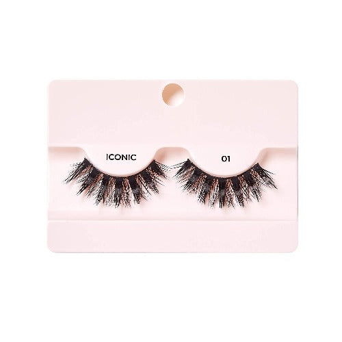 I Envy - KPEI01 - 3D Iconic Collection Chic 3D Lashes By Kiss - Waba Hair and Beauty Supply