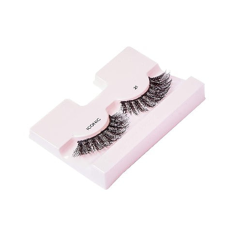 I Envy - KPEI21 - 3D Iconic Collection Glam 3D Lashes By Kiss - Waba Hair and Beauty Supply