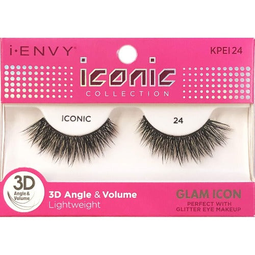 I Envy - KPEI24 - 3D Iconic Collection Glam 3D Lashes By Kiss - Waba Hair and Beauty Supply
