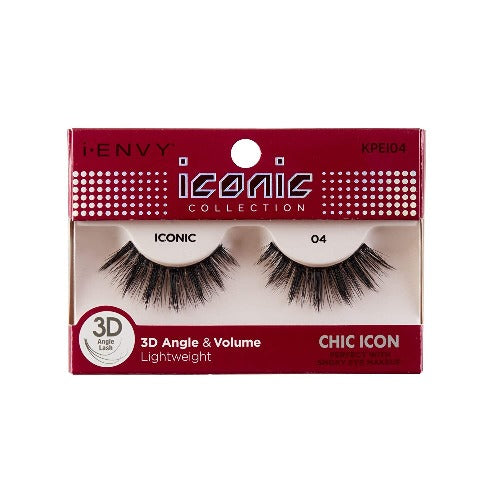 I Envy - KPEI04 - 3D Iconic Collection Chic 3D Lashes By Kiss - Waba Hair and Beauty Supply
