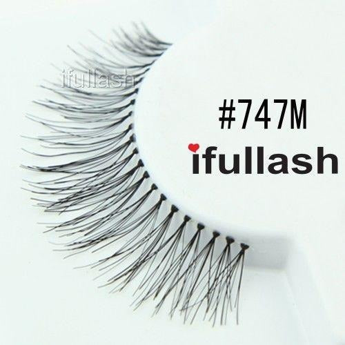#747M Ifullash False Eyelashes Extensions Lashes (6 Pairs) - Waba Hair and Beauty Supply