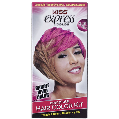 Express Color Complete Semi-Permanent Hair Color Kit by Kiss - Waba Hair and Beauty Supply