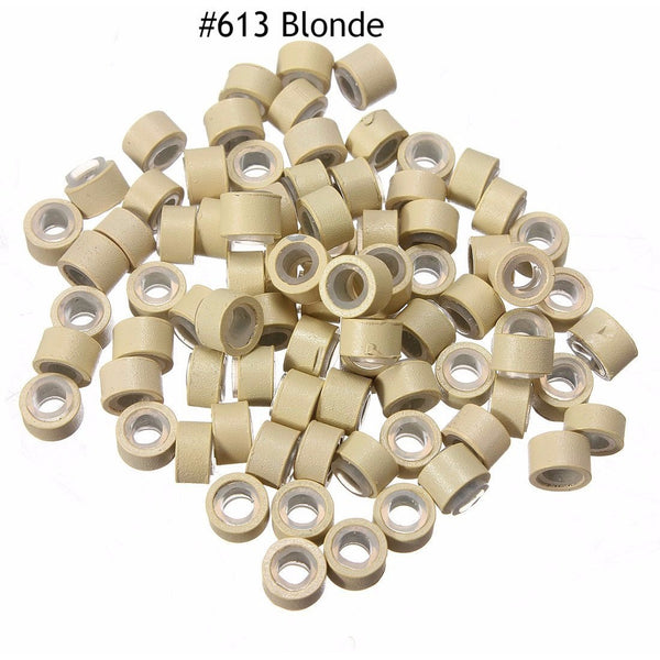 Silicone Micro-Rings For I Tips (100 Pcs) - Waba Hair and Beauty Supply