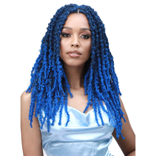 "14"" Cali Butterfly Locs 3X Synthetic Crochet Braid Hair By Bobbi Boss"