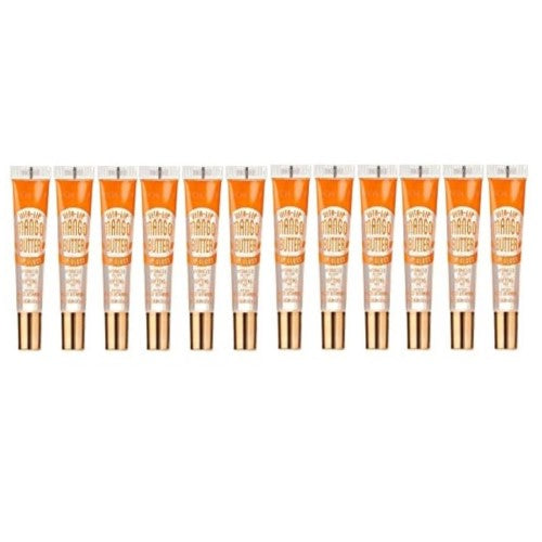 [12 PIECE] SET of Mango Butter Broadway Vita-Lip Clear Lip Gloss 0.47oz/14ml by Kiss