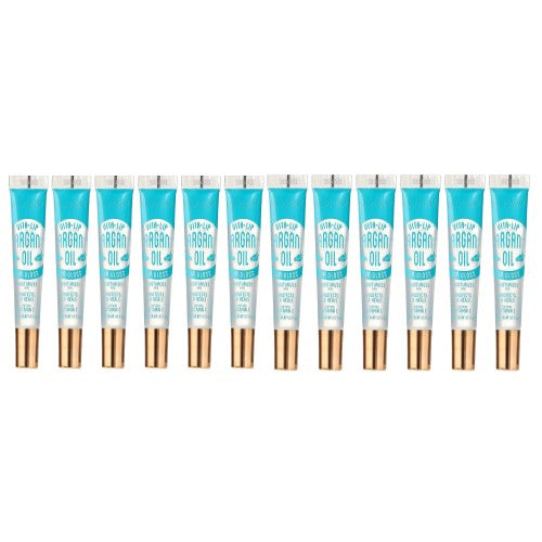 [ 12 PC ] SET of Argan Oil Broadway Vita-Lip Clear Lip Gloss 0.47oz/14ml by Kiss