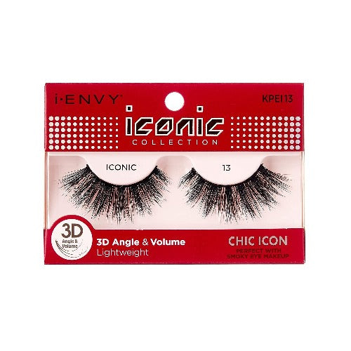 I Envy - KPEI13 - 3D Iconic Collection Chic 3D Lashes By Kiss - Waba Hair and Beauty Supply