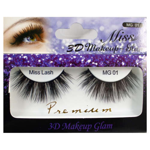 MG01 Miss 3D Makeup Glam Premium Lashes by Miss Lashes