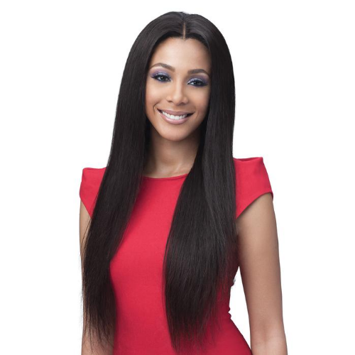 Straight 28 Lace Wig - BNGLWST28 - Bundle Hair Unprocessed Full Lace 100% Hand-Tied Hair Whole Lace Front Wig by Bobbi Boss