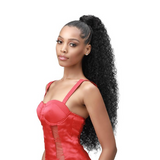 "30"" Boss Up Natural Jerry Curl Ponytail - BUJC30 - by Bobbi Boss"