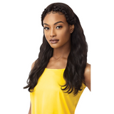 "24"" Natural Wave MyTresses 100% Unprocessed Human Hair Virgin Remi Gold Label Lace Front Wig by Outre"