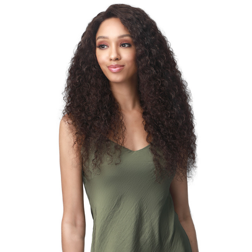 Salma - MHLF517 - 100% Unprocessed Human Hair Bundle Hair Lace Front Wig By Bobbi Boss