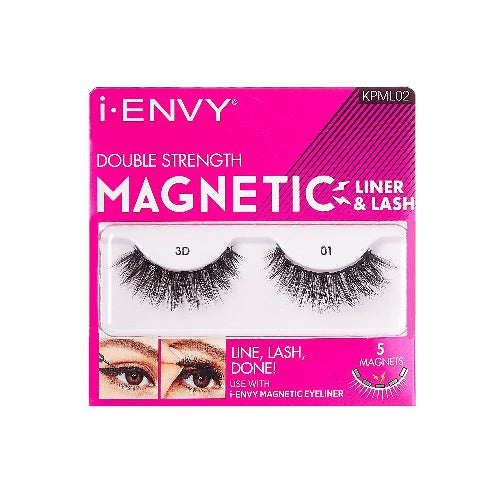 I Envy - KPML02 - Magnetic Eyelash Lashes By Kiss - Waba Hair and Beauty Supply