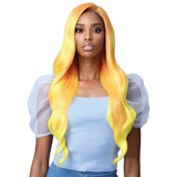 "Starla - MLF393 - Secret Lace 13"" x 4"" 360 Swiss Lace Hand Tied Premium Synthetic Lace Front Wig"