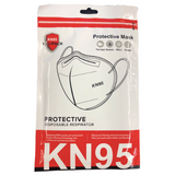 Protective Disposable KN95 Respirator Face Masks - Waba Hair and Beauty Supply