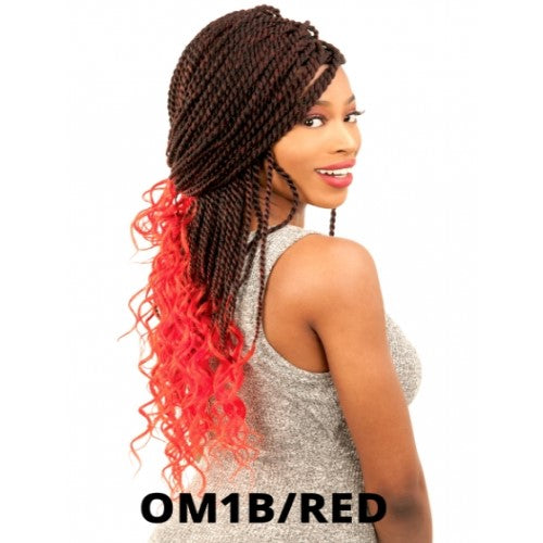 Alitress Senegalese Twist With Loose Wave 20 Crochet Braid Hair By Ch Waba Hair And Beauty Supply