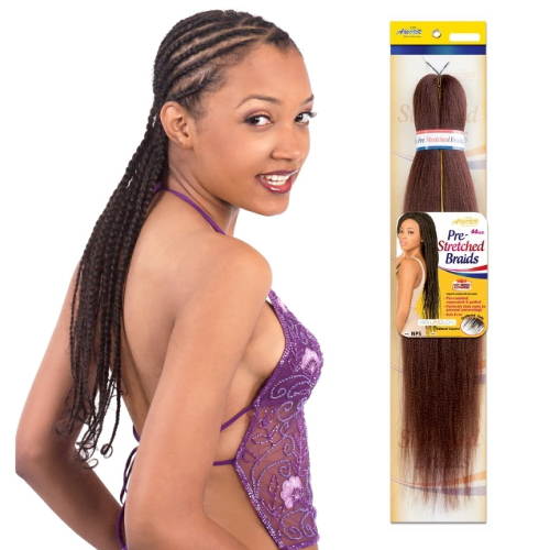 "54"" Natty Pre-Stretched Braiding Hair - NPS54 Braid Amour Hair By Chade Fashion - Waba Hair and Beauty Supply"