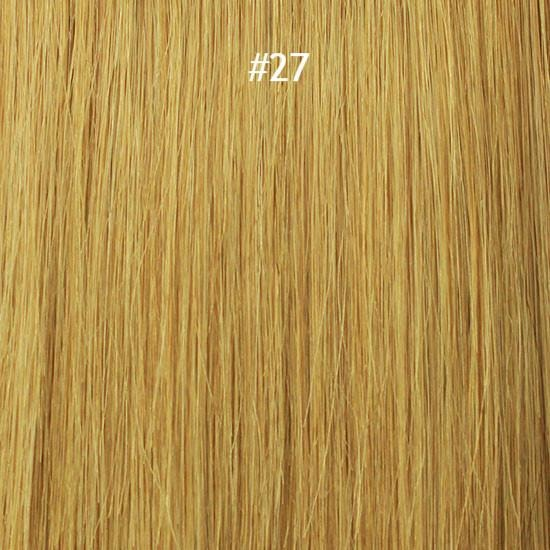 "'FRENCH KISS' I-TIP 18"" 100% REMY HUMAN HAIR EXTENSION-STRAIGHT - Waba Hair and Beauty Supply"