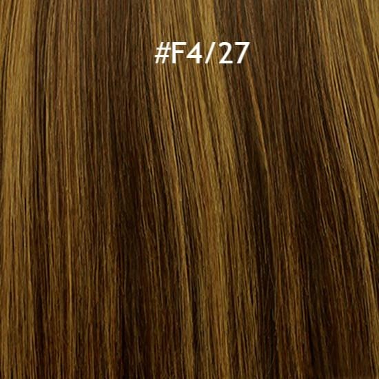 9 Piece Clip-In Extensions 100% Remy Human Hair By Jazz Wave - Waba Hair and Beauty Supply