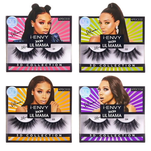 I Envy - KPEICE01 - XOXO Lil Mama Limited Edition Lashes By Kiss - Waba Hair and Beauty Supply