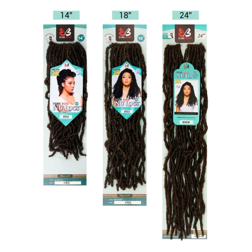 "Nu Locs 24"" 2X African Roots Synthetic Crochet Braid Hair By Bobbi Boss - Waba Hair and Beauty Supply"