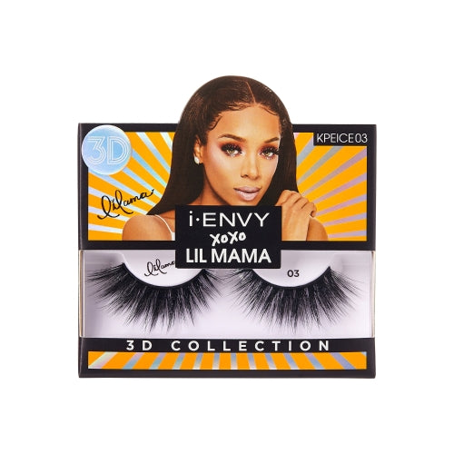 I Envy - KPEICE03 - XOXO Lil Mama Limited Edition Lashes By Kiss - Waba Hair and Beauty Supply