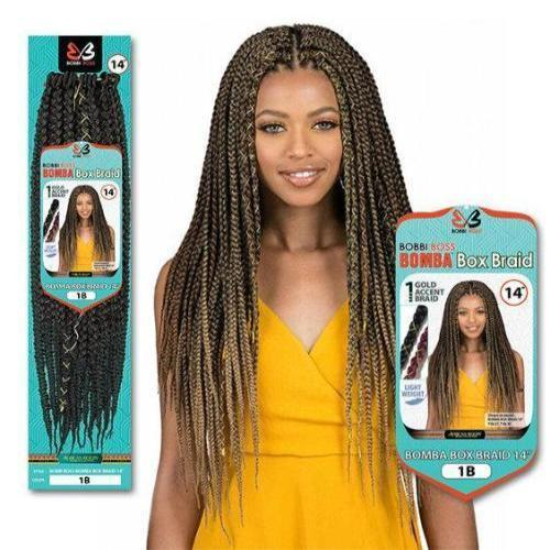 "Bomba Box Braid 18"" and 24"" African Roots Synthetic Braids By Bobbi Boss"