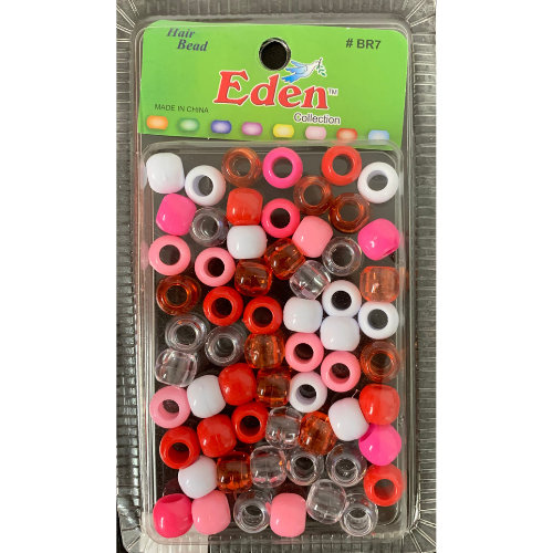 Pink Assorted Hair Beads #BR7 by Eden