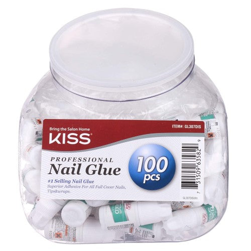 100 Piece Count of Maximum Speed Nail Glue - by Kiss