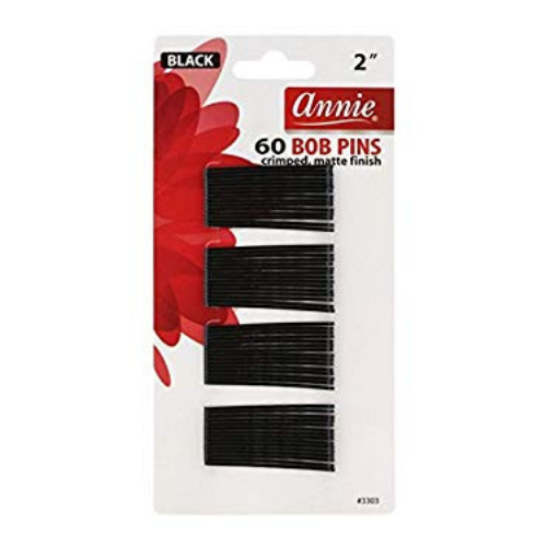 Black Bob Pins 60 Count By Annie - Waba Hair and Beauty Supply
