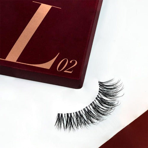 I Envy - KLEC02 - J Curl Extension Curl Invisible Band Lashes By Kiss - Waba Hair and Beauty Supply