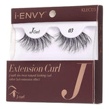 I Envy - KLEC03 - J Curl Extension Curl Invisible Band Lashes By Kiss - Waba Hair and Beauty Supply