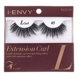 I Envy - KLEC09 - L Curl Extension Curl Invisible Band Lashes By Kiss - Waba Hair and Beauty Supply