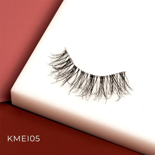 I Envy - KMEI05 - Matte 3D Invisible Band Lashes By Kiss - Waba Hair and Beauty Supply