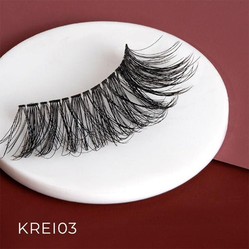 I Envy - KREI03 - Remy 3D Invisible Band Lashes By Kiss - Waba Hair and Beauty Supply