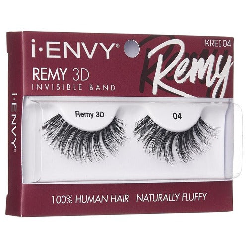 I Envy - KREI04 - Remy 3D Invisible Band Lashes By Kiss - Waba Hair and Beauty Supply