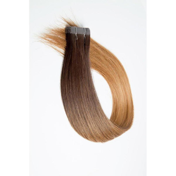 "18"" & 22"" Skin Weft 1.5"" Adhesive Tape In Extensions 100% Remy Human Hair By Bohyme - Waba Hair and Beauty Supply"