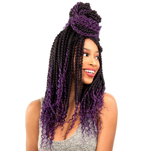 "Alitress Passion Twist 22"" Crochet Braid Hair By Chade Fashions - Waba Hair and Beauty Supply"