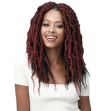 "14"" Messy Faux Locs Curly Tips By Bobbi Boss"