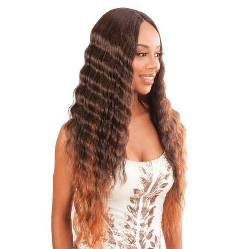 MLCR12 - Magic Lace Crimped Waves 12 Lace Front Wig By Chade Fashions