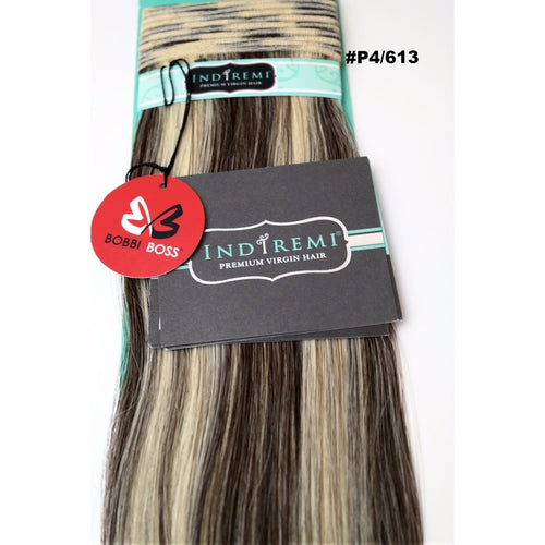 Indiremi Remy Virgin 100% Human Fine Silky Hair Extensions Hair By Bobbi Boss - Waba Hair and Beauty Supply